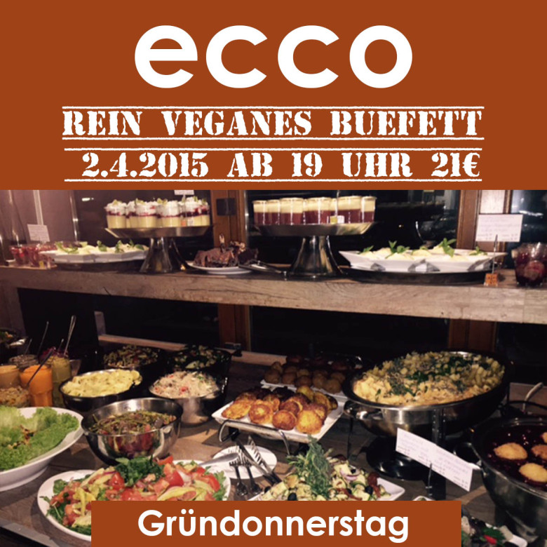 Veganes Buefett April 2015